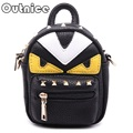 Outnice! Monster Eyes Small Mini Rivet Crossbody Bag Girls Chains Messenger Bags Famous Brand PU Leather Stella Purses for Women