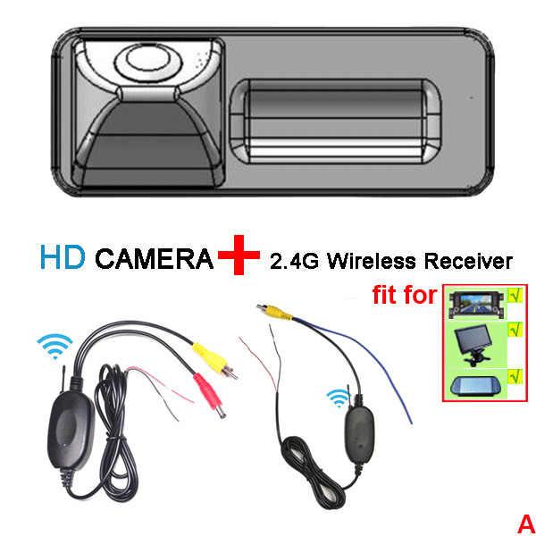 Hd用マツダ2マツダ3車のバックミラーバック逆駐車カメラ防水ワイヤレスカメラlcdスクリーンモニター