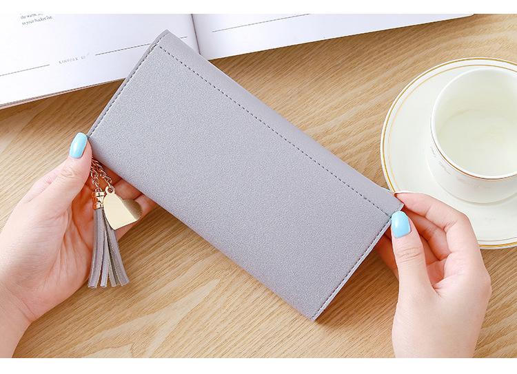 держатель кредитной карты ; женщины портмоне; Основной материал:: ПУ; коричневый клатч;