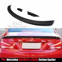 For Mercedes CLA CLASS W117 C117 Spoiler CLA250 CLA260 CLA45 AMGCarbon Fiber Rear Roof Spoiler 2013