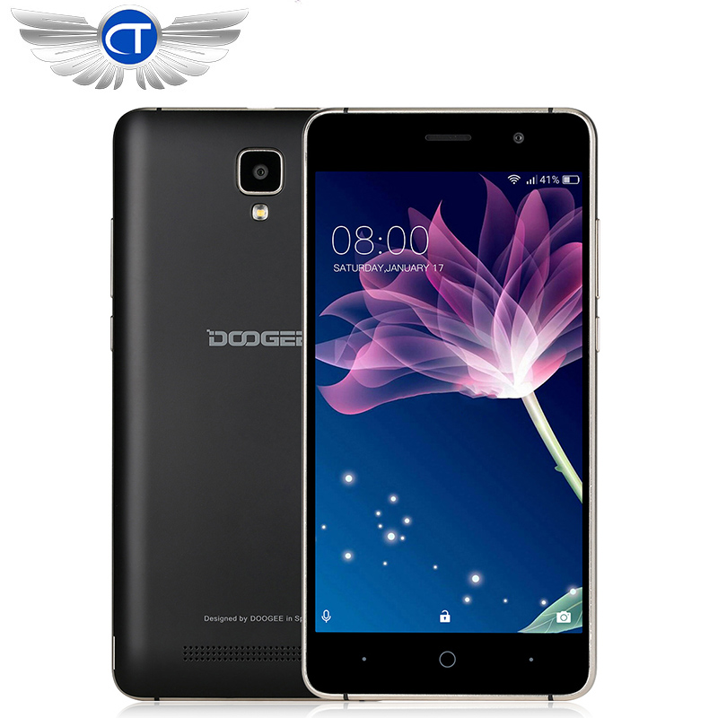 New DOOGEE X10 mobile phones 5 0Inch IPS 8GB Android6 0 smart phone Dual SIM MTK6570
