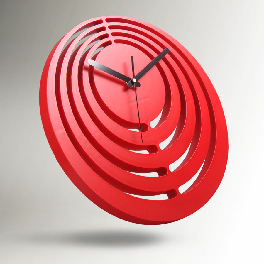 Red Wall Clock Creative China Living Room Modern Pvc In Clocks From Home Garden On Aliexpress Alibaba Group