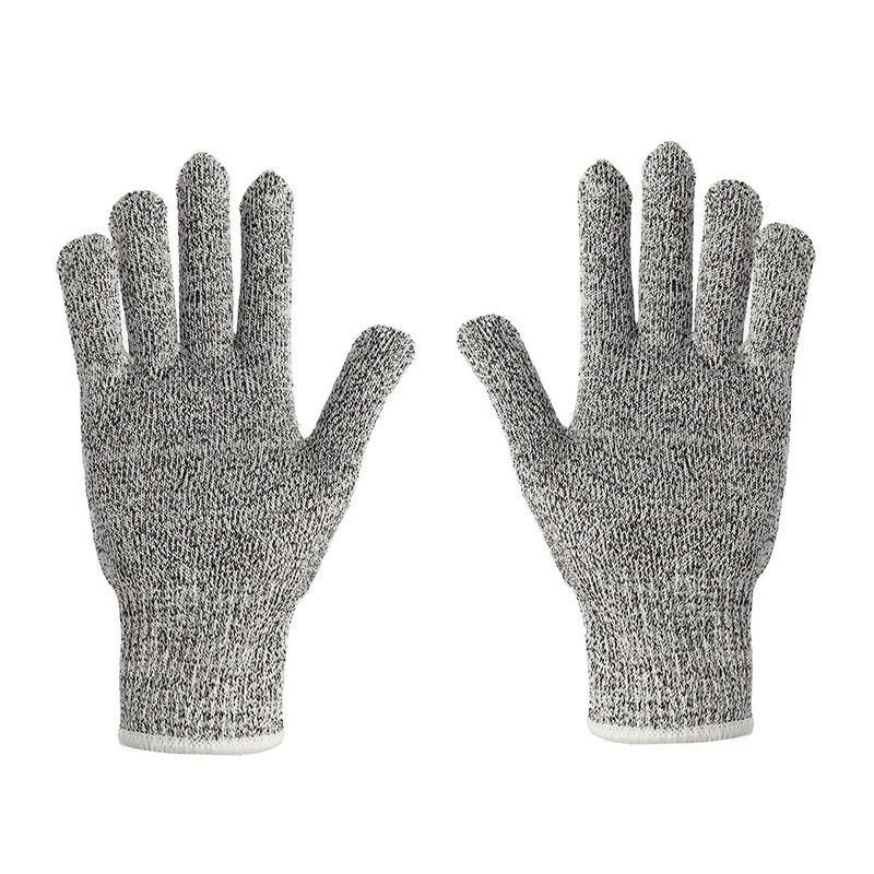 Cut Resistant Glove Fish Filleting Protective Safety Gloves Knife Slash Proof UK M