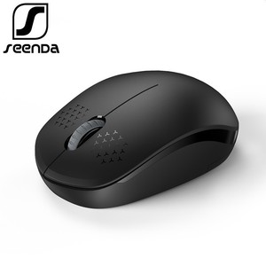 SeenDa Silent Wireless Mouse Computer Mouse 2.4Ghz 1600 DPI Ergonomic Noiseless Mause Portable Mini USB Mouse for Laptop PC(China)