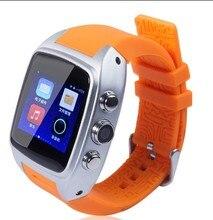 """X01 smart watch mtk 6572 dual core 1.54 """"หน้าจอ512เมกะไบต์Ram 4กิกะไบต์รอมซิมการ์ดAndroid 4.4บลูทูธ3กรัมWIFI GPSกล้องPK X5 K18"""