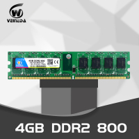 VEINEDA Memory 8GB DDR2 2 X 4GB ram 800 Mhz PC2 6400 240Pin Memory just For intel AMD Desktop dimm