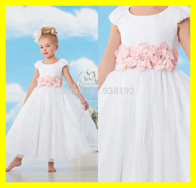 f3e2930de83 Plus Size Flower Girl Dresses Infants Easter Belk Jordan Dress Scoop Cap  Sleeve Short Flowers A-Line Ankle-Length Org 2015 Cheap