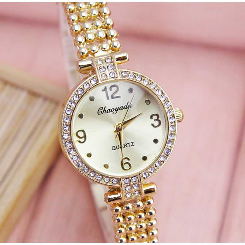 2018 new women ladies fashion dress quartz wristwatches hand