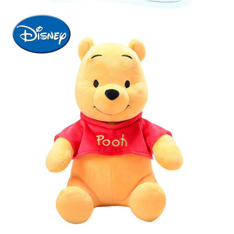все цены на Disney Classic Plush Toys Pooh Cartoon Kids Children Winnie Lilo Piglet Soft Plush Stuffed Doll Birthday Holiday Gift