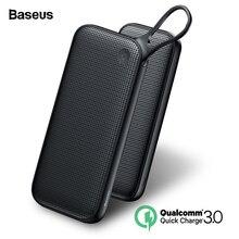 Baseus 20000mAh Quick Charge 3.0 Power Bank 20000 mAh USB C Pover Poverbank Portable Charging External Battery Charger Powerbank цена и фото