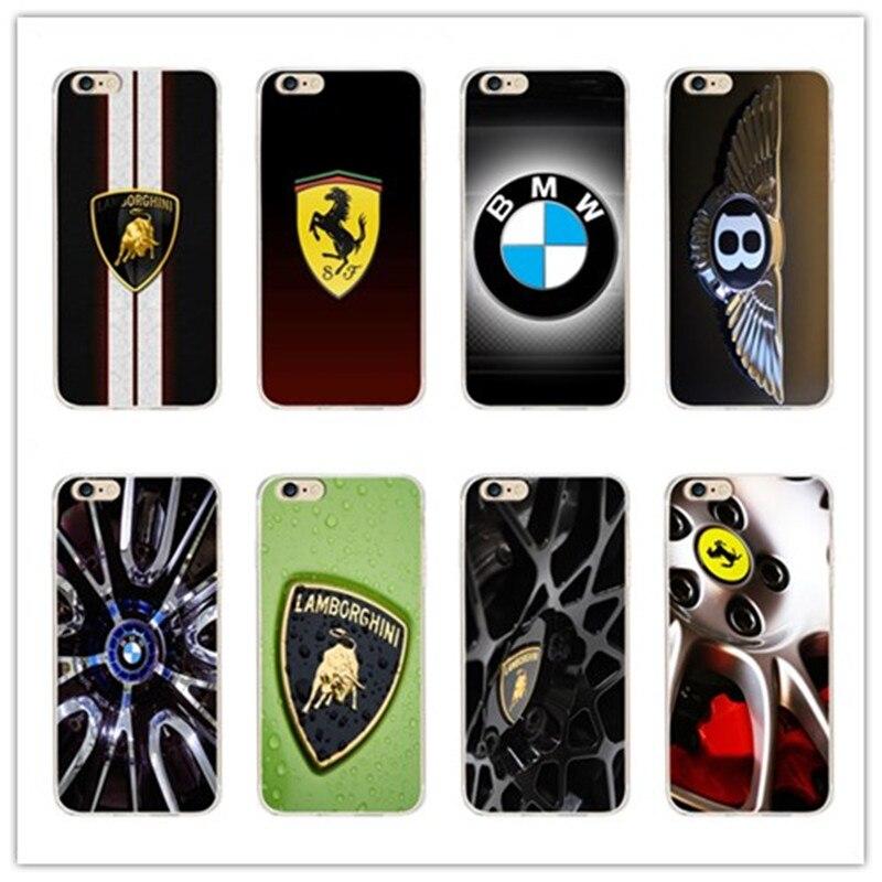Luxury Sports Car Phone Cases For 7 7 Plus 6 6s 6 Plus 6s Plus 5