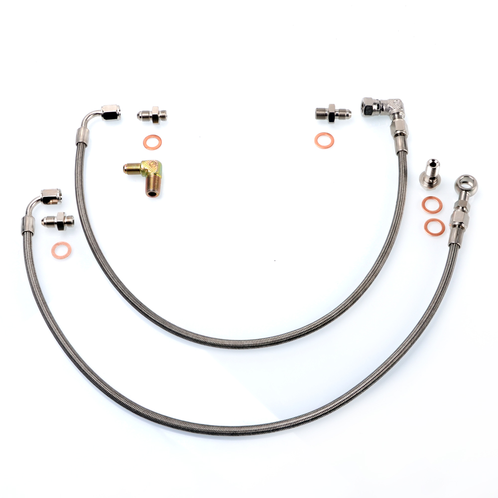 Kinugawa Turbo Oil Feed Line Kit for Nissan 300ZX Z32 w
