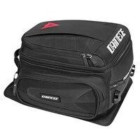 Dain Motorbike Tail Bag Black Motocross Waterproof Tail Travel Rider Luggage Rear Back Seat Bag