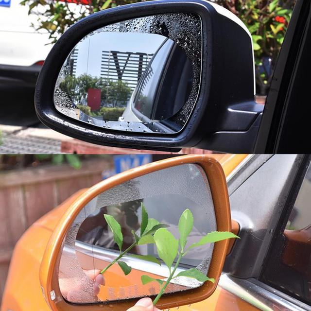 Car Anti Water Mist Film Rainproof Waterproof Universal Car Oval Protective Film Rear-view Mirror Round Drop Shipping #0911