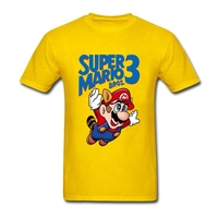 Custom Made T Shirts Super Mario Pros Man Personalized Short Sleeve Valentine S Tees Shirt Plus
