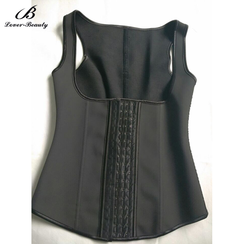 Lover Beauty 100% Latex Waist Cincher Slimming Vest Waist Trainer Corset  Plus Size Girdle Belt Waist Shapewear Cinta Modeladora
