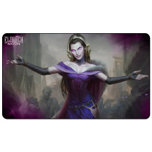 Liliana the last hope ELDRITCH MOON 60x35cm MTG Playmat Liliana the last Hope for Magical The Gathering Board Game table mat цена