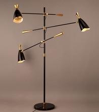 Nordic Italian Designer Tripod Duke Floor Lamps Minimalist villa Floor Lamps Living Room Bedroom Decorative Floor Lights