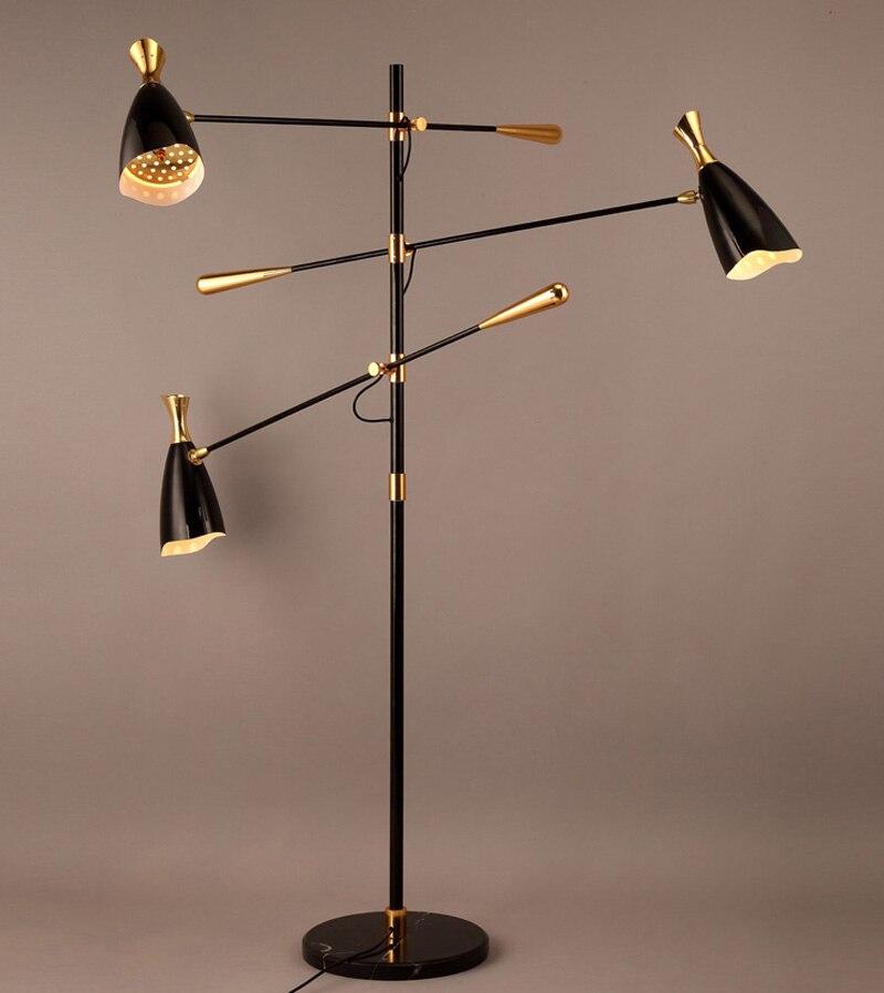 Nordic Italian Designer Tripod Duke Floor Lamps Minimalist Villa Living Room Bedroom Decorative Lights
