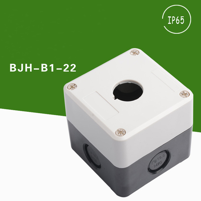 high quality Waterproof push button switch box Indicator light ...