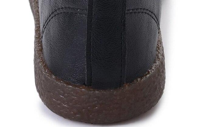 Fille Souple Aleafalling De Bout Femmes blanc Chaussures Cuir Lacent Rond Sport Noir Afl15 En Sneakers Plates qI4zITFwxr