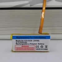 650mAh Ersatz Batterie für ipod classic gen 6th 7th 80GB 120GB Dünne 160GB für ipod 5/5. 5 gen 30 gb 616-0229 batterie + werkzeuge