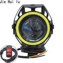2PCS 125W Motorcycle Headlight Motorbike Spotlight U7 LED Moto Driving Car Fog Spot Head Light Lamp Free Shipping зажигалка zippo 214 abstract 3 6 х 1 2 х 5 6 см