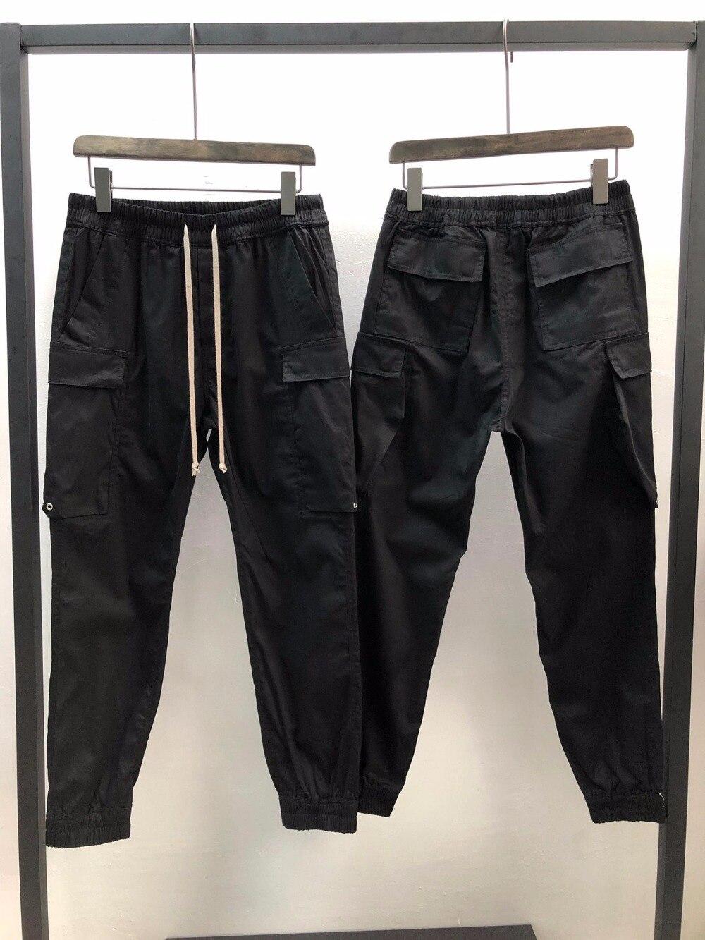 19ss Owen Seak Pantaloni Da Uomo 100% Cotone da Uomo Gotico di Abbigliamento Pantaloni Della Tuta di Estate Leggero Delle Donne Solido Sciolto Pantaloni Taglia XL-in Pantaloni da tuta da Abbigliamento da uomo su  Gruppo 1