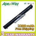 Apexway 4 células bateria do portátil para hp pavilion 14 14 t 14z 15 15 t 15z HSTNN-YB4D YB4D HSTNN-YB4M HSTN-NPB5S HSTNN-DB4D VK04 VOLS