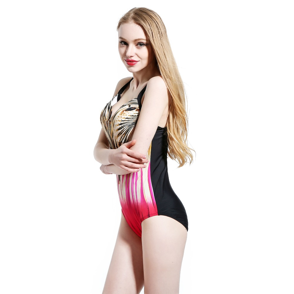 Foclassy Swimsuit Bikini 2017 Plus Size Swimwear әйелдер - Спорттық киім мен керек-жарақтар - фото 4