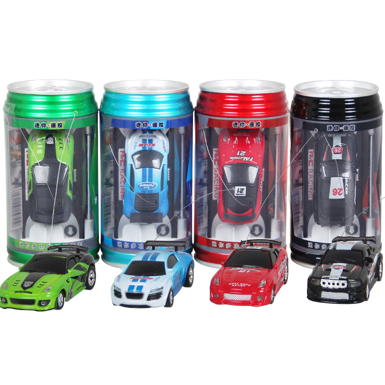Remote Control Coke Car toys High Speed Truck Mini pop-top cars RC Car 4 colors random delivery Electronic kids boy toys 1