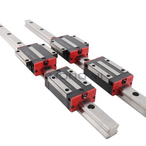 Image 2 - 送料無料 2 個リニアレールHGR20 cnc部品と 4 個HGH20CAまたはHGW20CCリニアガイドは、ブロックをレールのためのさまざまな楽器