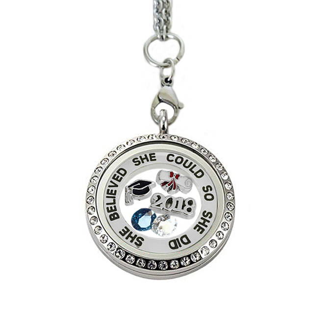 charm lrg graduation board mortar cap motar necklace