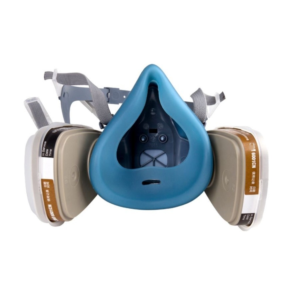 7502-7Piece-Suit-Respirator-Painting-Spraying-Face-Gas-Mask-half-face-mask-for-construction-mining-Free (2)