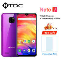 Ulefone Note 7 Smartphone 3500mAh 19:9 Quad Core 6.1'' Waterdrop Screen 1GB RAM 16GB ROM WCDMA Android 8.1 Mobile phone