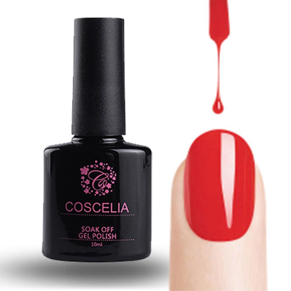 Aliexpress 1pc Coscelia 31 Colors Gel Nail Polish Uv 10ml Long Lasting Cure Soak Off From Reliable