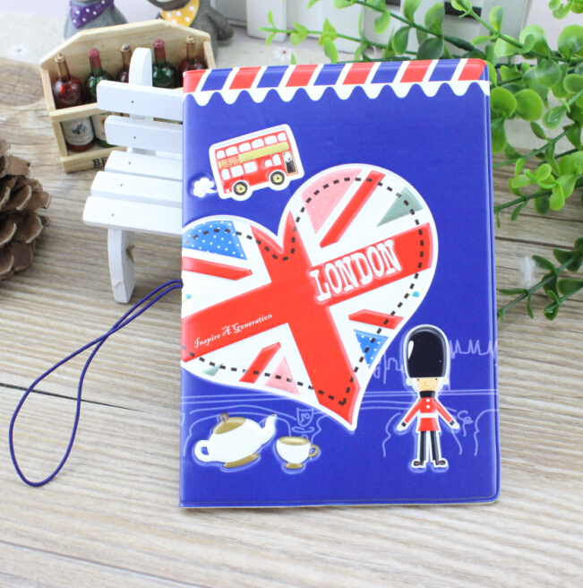 London passport holder Passport Case ID sets document sets - outbound travel abroad,3 style for choose