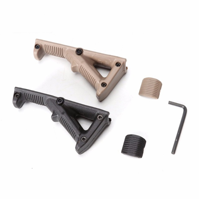 Second Generation AFG Angled Foregrip Accessories with Guide Rail for Nerf Toy Gun
