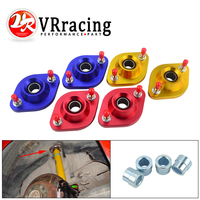 VR RACING Shock TOP Mount Set FOR BMW E30 E36 E46 Z3 Pillow Ball Rear Upper Camber Plates VR THM02