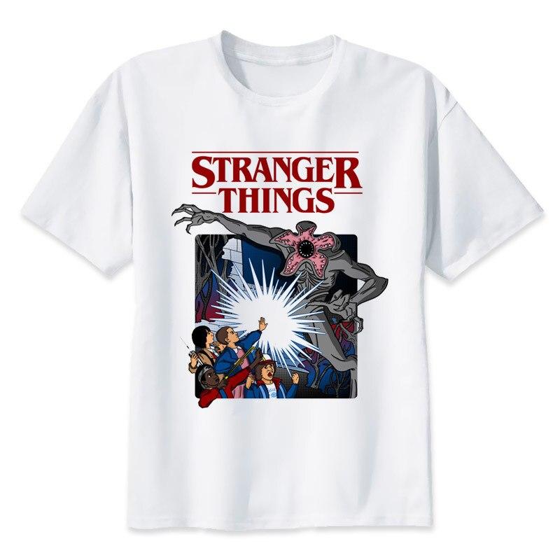 BTFCL Stranger Things   T     Shirt   2019 Anime Tshirt Men Summer Cool Tees Unisex Loose Plus Size Tshirt Camiseta Masculina