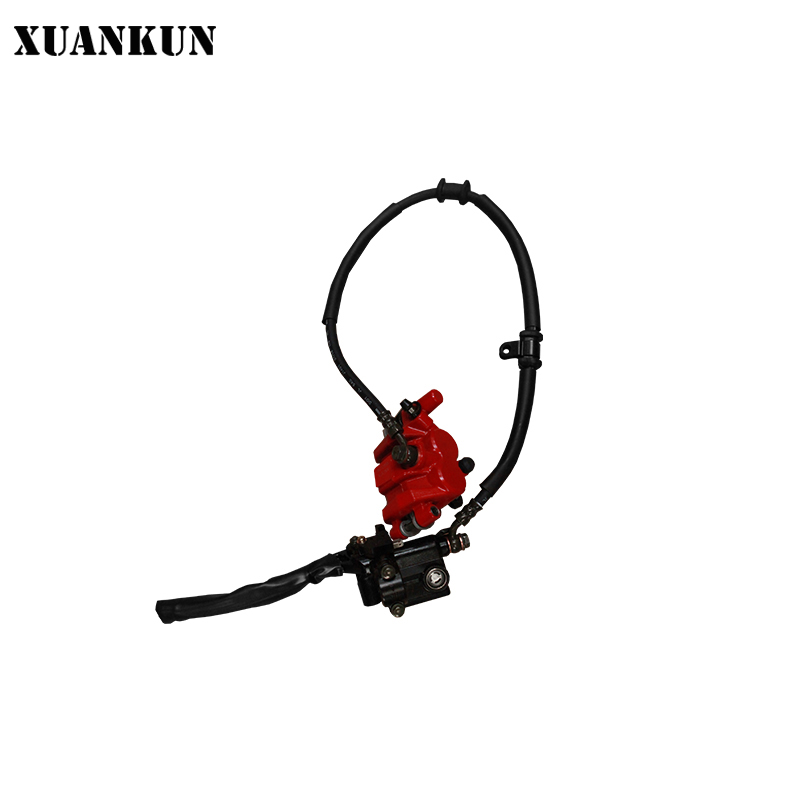 XUANKUN Motorcycle LF150-5U / KPmini / Front Hydraulic Brake Combination starpad for lifan motorcycle lf150 10s kpr150 new front brake discs accessories