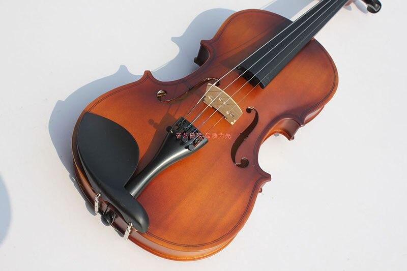 Скрипки из дерева ручной работы высокого качества матовая Скрипки взрослых детей начинающих профессионального класса Музыкальные инструм