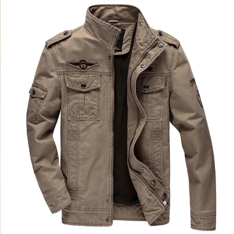 284fc66e45866 BEst Jacket Brand Jacking man winter jackets Men coats Army Military High  quality Stand collar Jacket