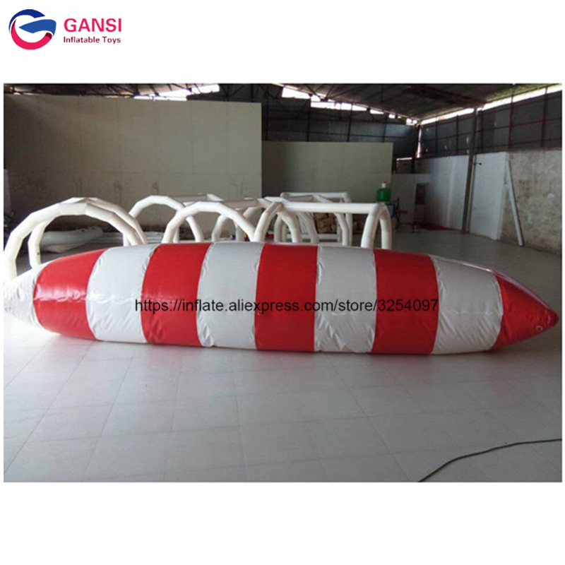 2017 Summer hot sale customized color size Inflatable water blob,amazing water toys factory inflatable water catapult blob free shipping 6 2m 0 9mm pvc inflatable trampoline water pillo water blob jump inflatable jumping jump bed on water