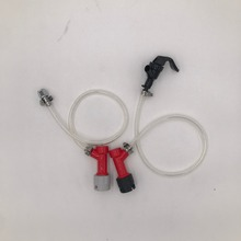 20 (50CM) beer line wiht  PIN LOCK Disconnect set for home brew keg