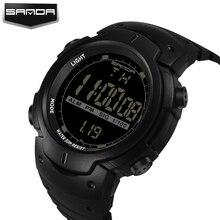 2017 New Sanda Brand Luxury Multifunction LED Digital Watches For Men Ladies Clock Womens Male Wrist