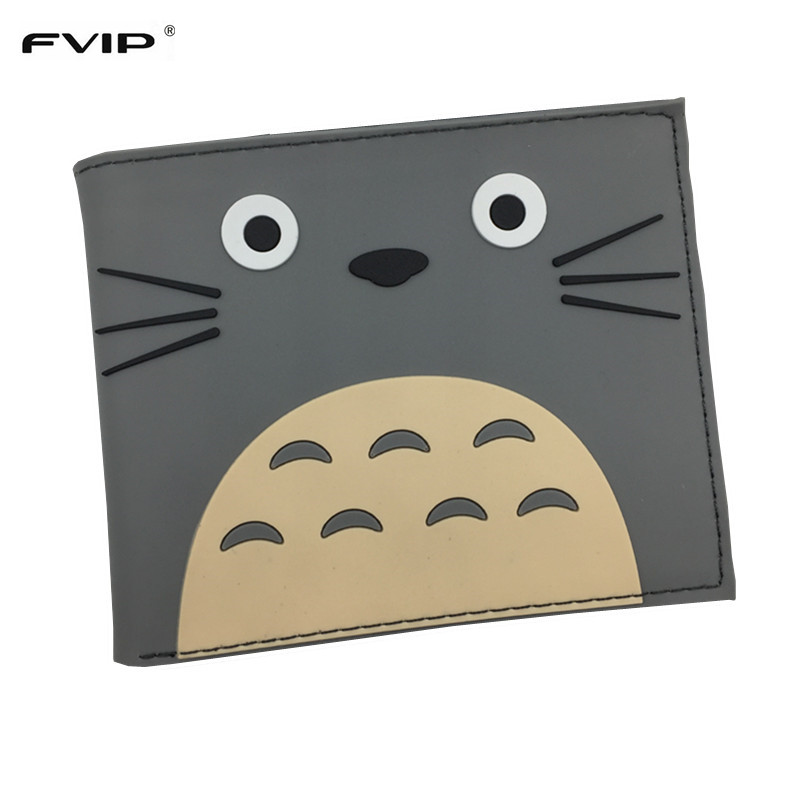 Free Shipping PVC Wallet Attack on Titan/Totoro/Overwatch/One Piece/Harry Potter/The Witcher 3 Cartoon Wallets with Card Holder boy attack on titan cartoon wallet casual anime men wallets fairy tail and conan dollor price card holder with cion pocket