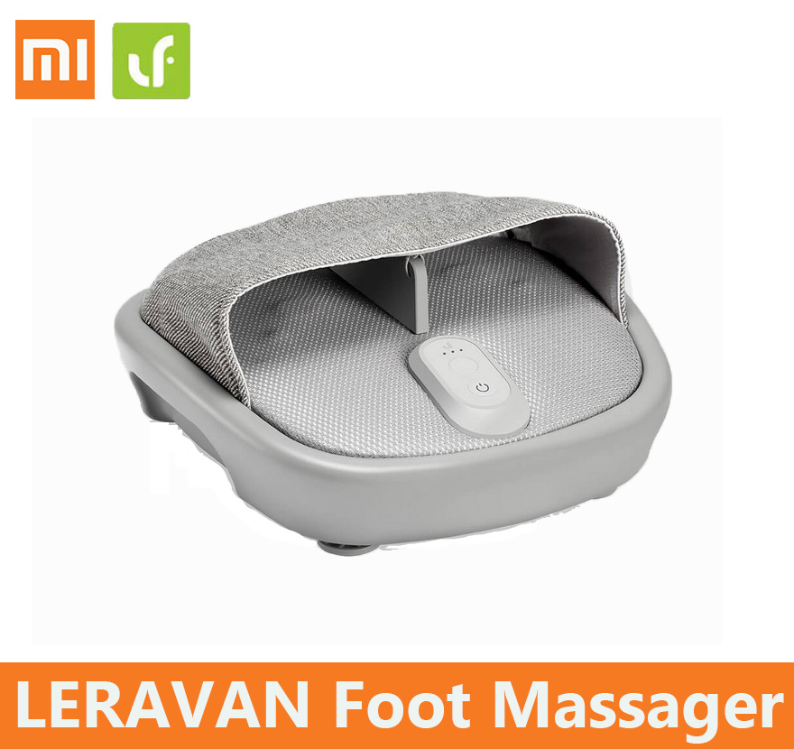 xiaomi mijia LERAVAN Foot Massager Reflexology Kneading Vibrating Roller comfortable Electric Automaton Heating LF home massager
