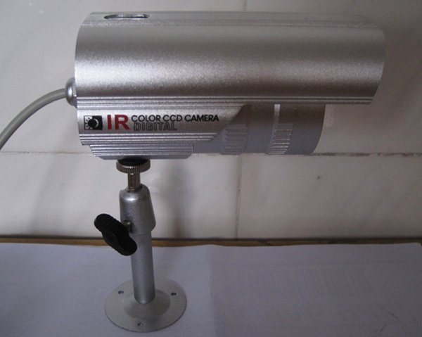 "Infrared Waterproof CCTV Camera with 1/3"" sony CCD board, security camera"