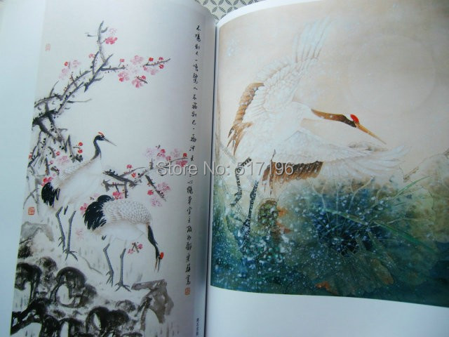 Us 4599 New China Red Crowned Crane Bird Chinese Painting Tattoo Book Tattoo Refer Book Tattoo Flash Book Tattoo Designs Free Shipping In Tattoo